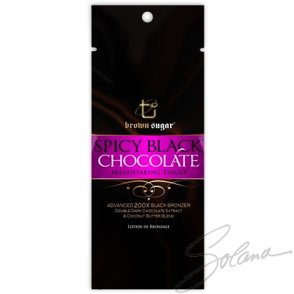 BLACK SPICY CHOCOLATE 200X BLACK BRONZER TINGLE SACHET