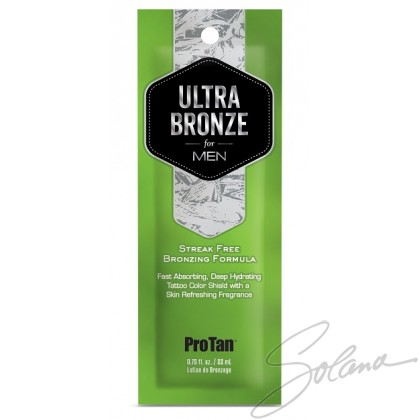 PRO TAN FOR MEN ULTRA BRONZE NATURAL BRONZER Sachet