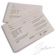 CARTES CLIENTS (ANGLAIS)