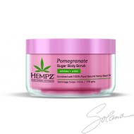 HEMPZ SUGAR EXFOLIANT POMEGRANATE 7.3oz