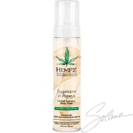 HEMPZ SUCRE DE CANNE & PAPAYE SAVON CORPOREL 8.5on