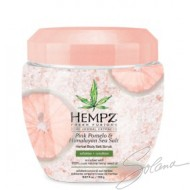 HEMPZ PINK POMELO $ HIMALAYAN SEA SALT EXFOLIANT 5.67on